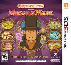 Professor Layton and The Miracle Mask Nintendo 3DS Prices