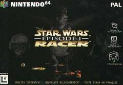 Star Wars Episode I Racer PAL Nintendo 64 Prices