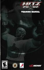 Manual - Front | NHL Hitz 2002 Playstation 2
