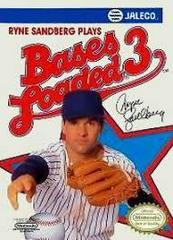 Bases Loaded 3 - Front | Bases Loaded 3 NES