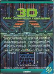 Beamrider - Back   Beamrider Atari 5200