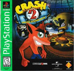 Manual - Front | Crash Bandicoot 2 Cortex Strikes Back [Greatest Hits] Playstation