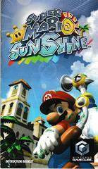 Manual - Front | Super Mario Sunshine Gamecube