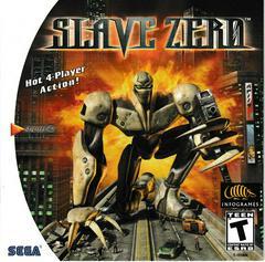 Manual - Front | Slave Zero Sega Dreamcast