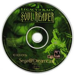 Game Disc | Legacy of Kain Soul Reaver Sega Dreamcast