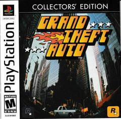 GTA Manual - Front | Grand Theft Auto [Collector's Edition] Playstation