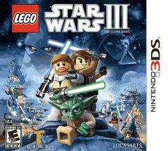 LEGO Star Wars III: The Clone Wars Cover Art