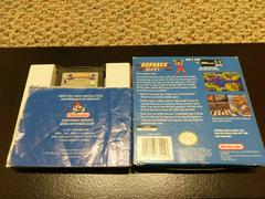 Advance Wars Box And Manual Game Cover Back | Advance Wars GameBoy Advance
