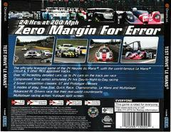 Back Of Case | Test Drive Le Mans Sega Dreamcast