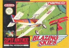 Blazing Skies PAL Super Nintendo Prices