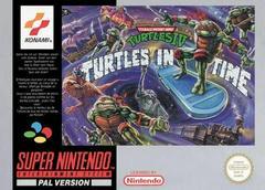 Teenage Mutant Hero Turtles IV Turtles in Time PAL Super Nintendo Prices