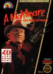 A Nightmare On Elm Street - Front | A Nightmare on Elm Street NES