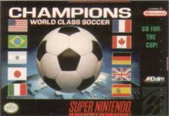 Champions World Class Soccer Super Nintendo Prices