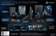 Final Fantasy XV [Ultimate Collector's Edition] Playstation 4 Prices