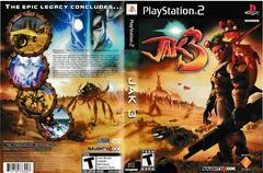 Artwork - Back, Front   Jak 3 Playstation 2