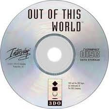 Out Of This World - Disc | Out of This World 3DO