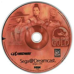Game Disc - Version 2 (Red Tint) | Mortal Kombat Gold Sega Dreamcast