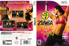Case Artwork - Back, Front | Zumba Fitness Wii