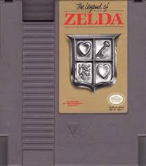 Legend Of Zelda - Cartidge | Legend of Zelda [Gray Cart] NES