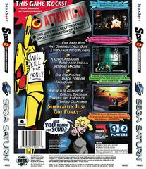 Back Of Box | Scud The Disposable Assassin Sega Saturn