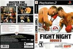 Artwork - Back, Front | Fight Night Round 3 Playstation 2