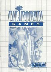 California Games - Instructions | California Games Sega Master System