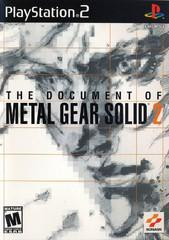 Document of Metal Gear Solid 2 Playstation 2 Prices