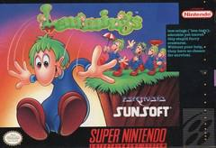 Lemmings Super Nintendo Prices