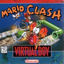 Mario Clash - Front | Mario Clash Virtual Boy