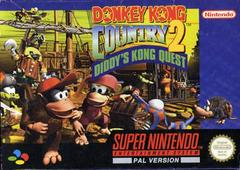 Donkey Kong Country 2 PAL Super Nintendo Prices