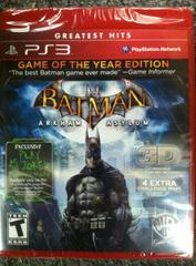 Batman: Arkham Asylum [Game of the Year Edition] (Greatest Hits) Playstation 3 Prices
