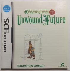 Manual | Professor Layton and the Unwound Future Nintendo DS