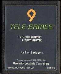 3D Tic-Tac-Toe [Tele Games]  - Cartridge | 3D Tic-Tac-Toe [Tele Games] Atari 2600