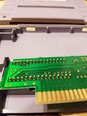 Eprom Solder Joints | M.A.C.S.  Multipurpose Arcade Combat Simulator Super Nintendo