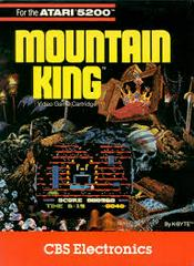 Mountain King - Front | Mountain King Atari 5200