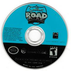 Game Disc | The Simpsons Road Rage Gamecube
