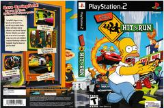 Artwork - Back, Front | The Simpsons Hit and Run Playstation 2