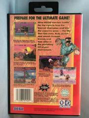 Back Of Case | Eternal Champions Sega Genesis