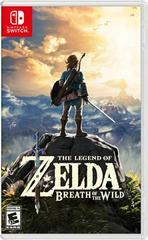 Nintendo switch zelda breath of the wild guide book