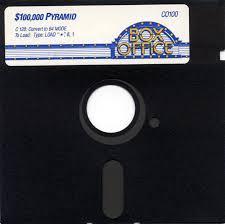 100,000 Pyramid - Floppy Disc | 100,000 Pyramid Commodore 64