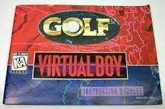 Golf - Instructions | Golf Virtual Boy