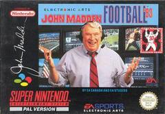 John Madden Football '93 PAL Super Nintendo Prices