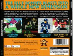 Back Of Box | Mega Man Legends Playstation