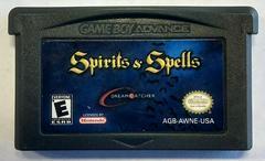 Cartridge   Spirits and Spells GameBoy Advance