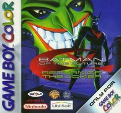 Batman Beyond Return of the Joker PAL GameBoy Color Prices