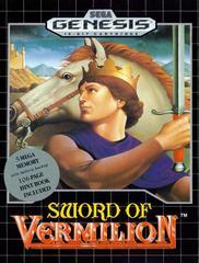 Sword of Vermilion Sega Genesis Prices