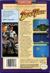 Duck Tales - Back | Duck Tales NES