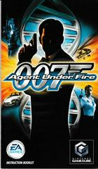 Manual - Front   007 Agent Under Fire Gamecube