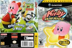 Artwork - Back, Front (Players Choice) | Kirby Air Ride Gamecube
