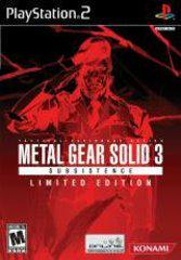 Metal Gear Solid 3 Subsistence Limited Edition Playstation 2 Prices